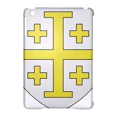 The Arms Of The Kingdom Of Jerusalem  Apple Ipad Mini Hardshell Case (compatible With Smart Cover) by abbeyz71