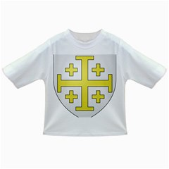 The Arms Of The Kingdom Of Jerusalem Infant/toddler T Shirts