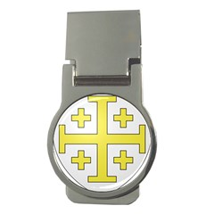 The Arms Of The Kingdom Of Jerusalem Money Clips (round)  by abbeyz71