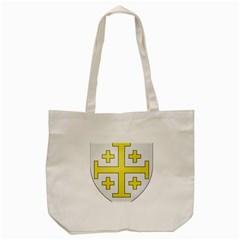 The Arms Of The Kingdom Of Jerusalem Tote Bag (cream) by abbeyz71