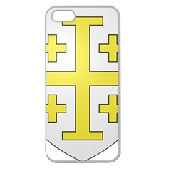 The Arms Of The Kingdom Of Jerusalem Apple Seamless Iphone 5 Case (clear) by abbeyz71