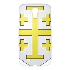 The Arms Of The Kingdom Of Jerusalem Samsung Galaxy S4 I9500/i9505 Hardshell Case by abbeyz71