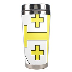 The Arms Of The Kingdom Of Jerusalem Stainless Steel Travel Tumblers by abbeyz71