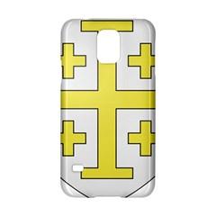 The Arms Of The Kingdom Of Jerusalem Samsung Galaxy S5 Hardshell Case  by abbeyz71