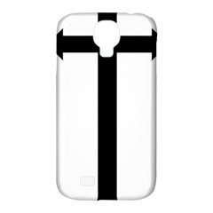Anchored Cross  Samsung Galaxy S4 Classic Hardshell Case (pc+silicone) by abbeyz71