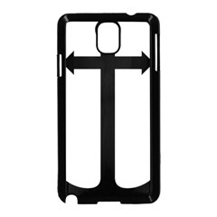 Anchored Cross  Samsung Galaxy Note 3 Neo Hardshell Case (black)