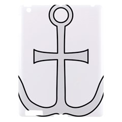 Anchored Cross  Apple Ipad 3/4 Hardshell Case by abbeyz71