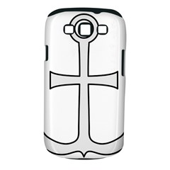 Anchored Cross  Samsung Galaxy S Iii Classic Hardshell Case (pc+silicone) by abbeyz71
