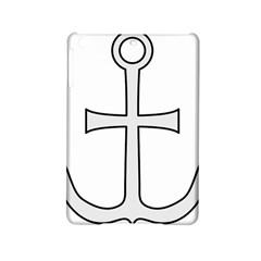 Anchored Cross  Ipad Mini 2 Hardshell Cases by abbeyz71