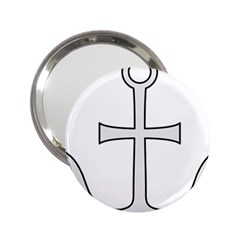 Anchored Cross 2 25  Handbag Mirrors by abbeyz71