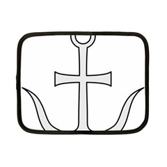 Anchored Cross Netbook Case (small)  by abbeyz71