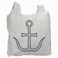 Anchored Cross Recycle Bag (two Side)  by abbeyz71