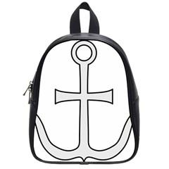 Anchored Cross School Bags (small)  by abbeyz71