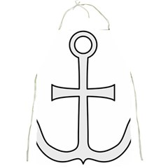 Anchored Cross Full Print Aprons by abbeyz71