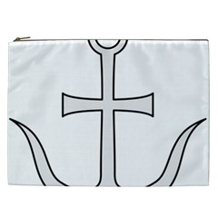 Anchored Cross Cosmetic Bag (xxl)  by abbeyz71