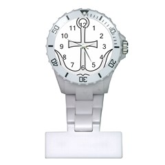Anchored Cross Plastic Nurses Watch by abbeyz71