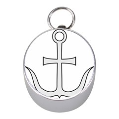 Anchored Cross Mini Silver Compasses by abbeyz71