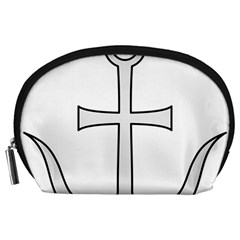 Anchored Cross Accessory Pouches (large)  by abbeyz71