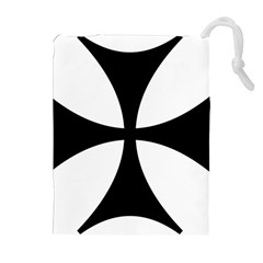 Bolnisi Cross Drawstring Pouches (extra Large)