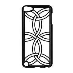 Carolingian Cross Apple Ipod Touch 5 Case (black) by abbeyz71