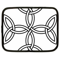 Carolingian Cross Netbook Case (xl)  by abbeyz71