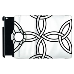 Carolingian Cross Apple Ipad 2 Flip 360 Case by abbeyz71