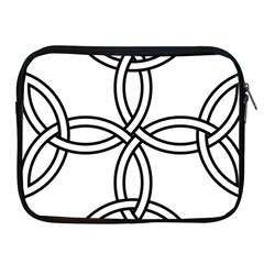 Carolingian Cross Apple Ipad 2/3/4 Zipper Cases by abbeyz71