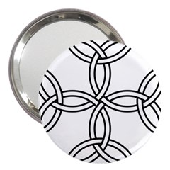 Carolingian Cross 3  Handbag Mirrors by abbeyz71