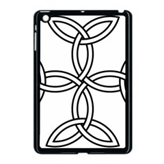 Carolingian Cross Apple Ipad Mini Case (black) by abbeyz71