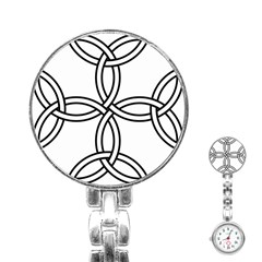 Carolingian Cross Stainless Steel Nurses Watch by abbeyz71