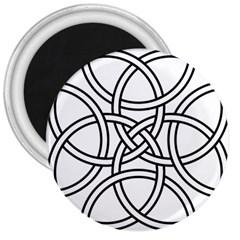 Carolingian Cross 3  Magnets by abbeyz71