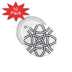 Carolingian Cross 1 75  Buttons (10 Pack) by abbeyz71