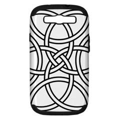 Carolingian Cross Samsung Galaxy S Iii Hardshell Case (pc+silicone) by abbeyz71