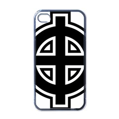 Celtic Cross Apple Iphone 4 Case (black) by abbeyz71