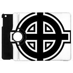 Celtic Cross Apple Ipad Mini Flip 360 Case by abbeyz71