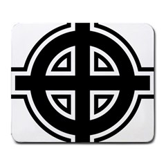 Celtic Cross Large Mousepads by abbeyz71