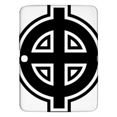 Celtic Cross Samsung Galaxy Tab 3 (10 1 ) P5200 Hardshell Case  by abbeyz71