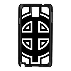 Celtic Cross Samsung Galaxy Note 3 N9005 Case (black) by abbeyz71