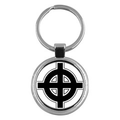 Celtic Cross Key Chains (round)  by abbeyz71