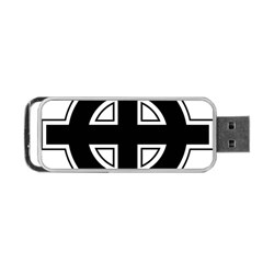 Celtic Cross Portable Usb Flash (two Sides) by abbeyz71