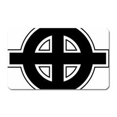 Celtic Cross Magnet (rectangular) by abbeyz71