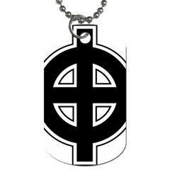 Celtic Cross Dog Tag (two Sides) by abbeyz71