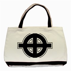 Celtic Cross Basic Tote Bag (two Sides) by abbeyz71