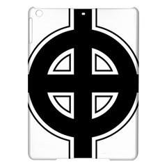 Celtic Cross Ipad Air Hardshell Cases by abbeyz71
