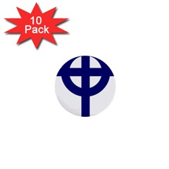 Celtic Cross  1  Mini Buttons (10 Pack)  by abbeyz71