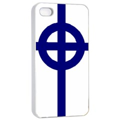 Celtic Cross  Apple Iphone 4/4s Seamless Case (white) by abbeyz71