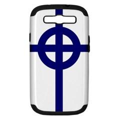 Celtic Cross  Samsung Galaxy S Iii Hardshell Case (pc+silicone) by abbeyz71