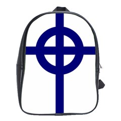 Celtic Cross  School Bags(large)  by abbeyz71