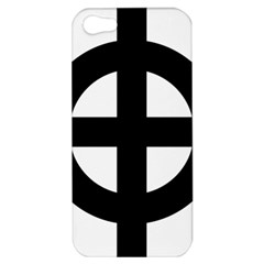 Celtic Cross  Apple Iphone 5 Hardshell Case by abbeyz71