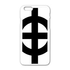 Celtic Cross Apple Iphone 6/6s White Enamel Case by abbeyz71
